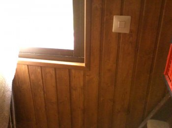 revestir una pared con madera