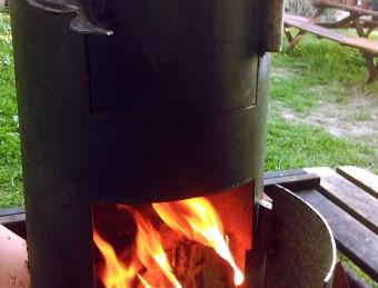 Cómo fabricar un horno de cilindro casero